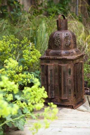 Moroccan-style lantern