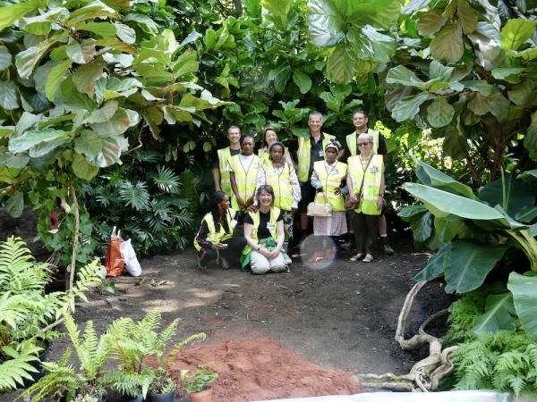 Garden construction and design team
