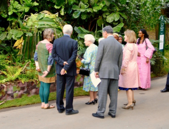 The Queen with Ann-Marie Powell, Chelsea 2010