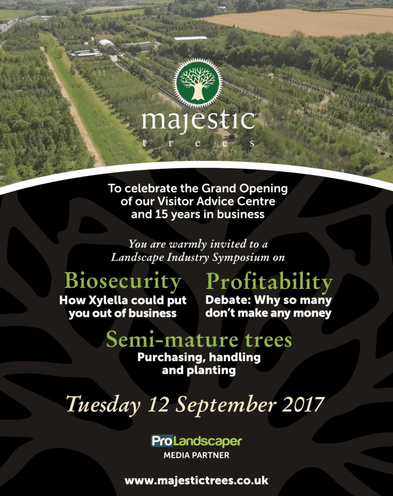 Majestic Tree's Landscape Industry Symposium - Ann-Marie Powell Gardens