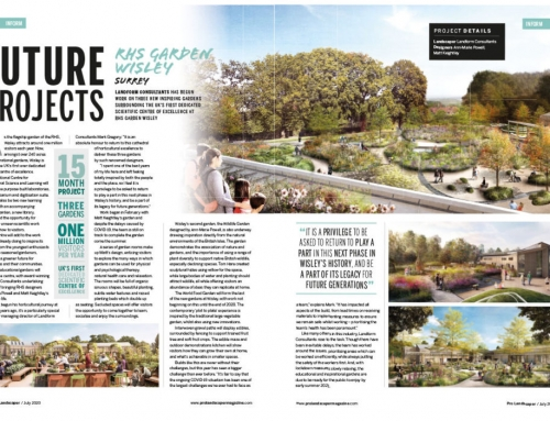Future Projects: Our RHS Wisley gardens feature in ProLandscaper Magazine
