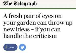 Ann-Marie Powell's garden advice for Telegraph Journalist