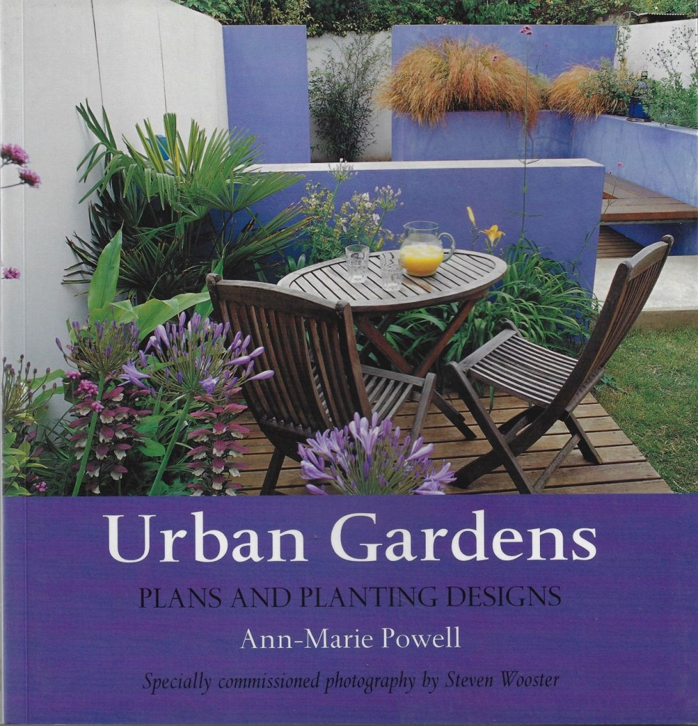 Urban Oasis image from Urban Gardens book by Ann-Marie Powell