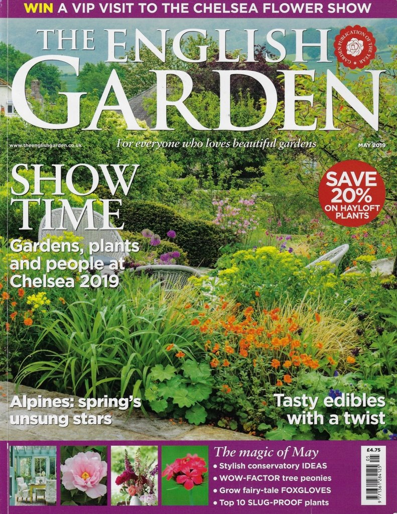 Cottage Industry article featuring Ann-Marie Powell Garden design