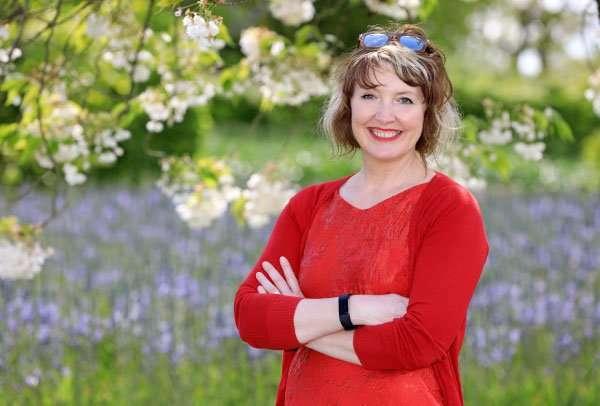 Award-winning garden designer Ann-Marie Powell