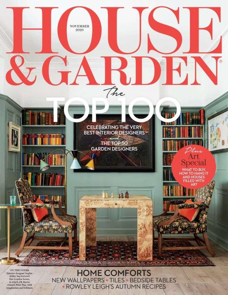 House and Garden November 2020 Ann-Marie Powell Garden Designer Top 50