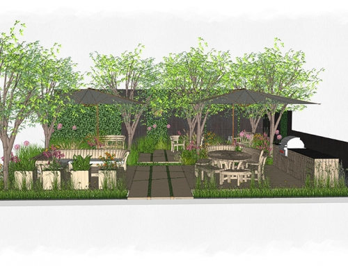 AMPG design for Gaze Burvill at RHS Chelsea 2021 revealed.