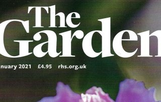 RHS The Garden Magazine features new World Food Garden by Ann-Marie Powell