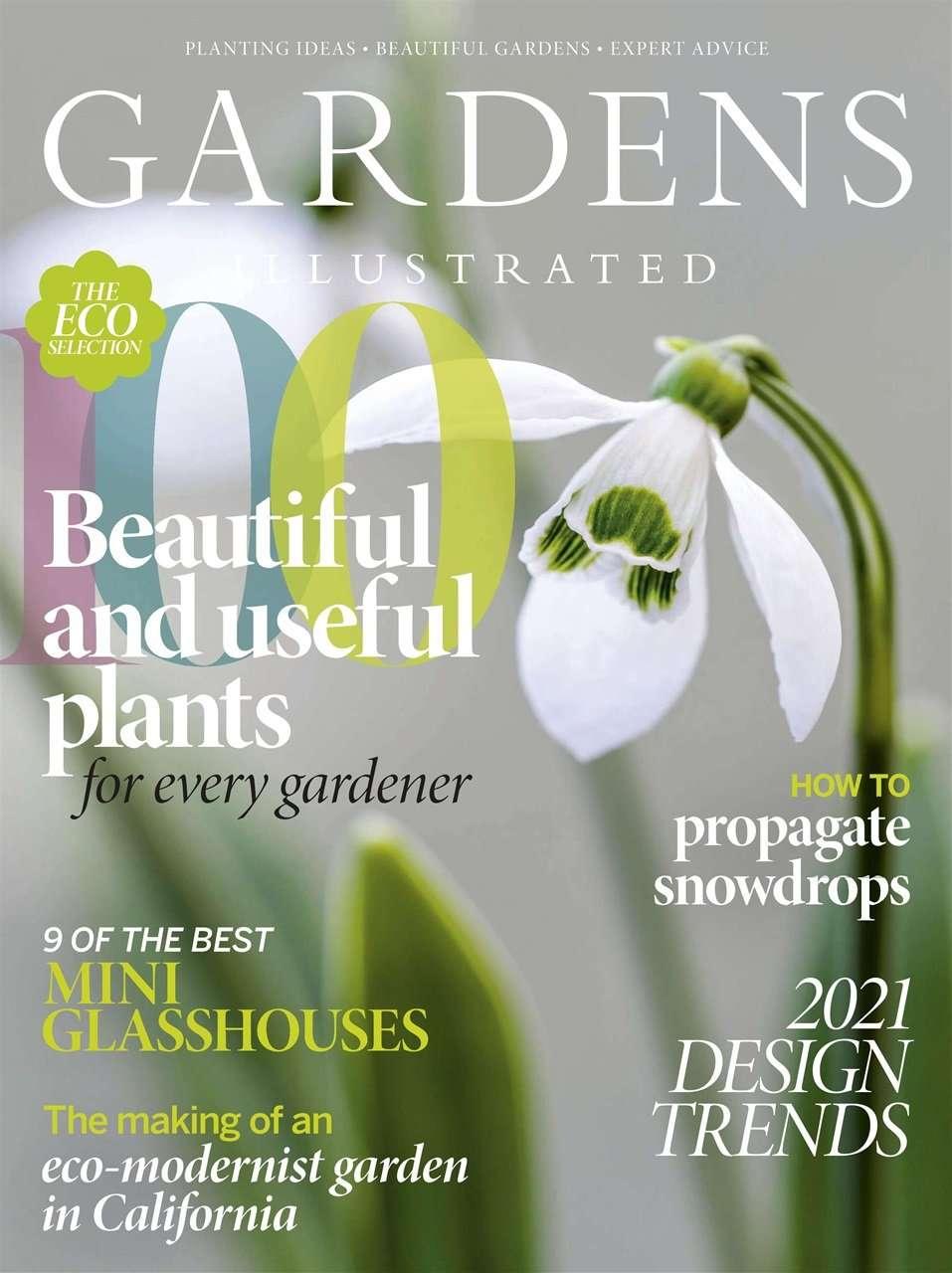 Gardens Illustrated Design Cover Trends 2021 Designer Ann-Marie Powell