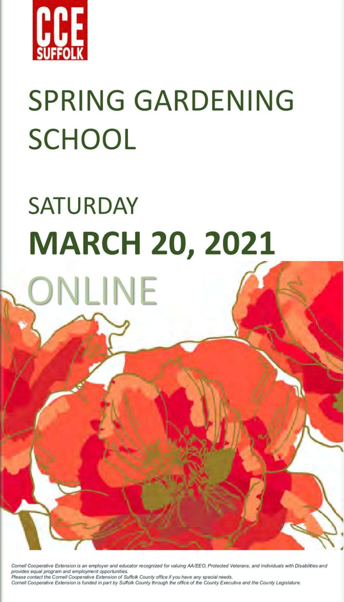 Ann-Marie Powell speaking at Suffolk County Spring Gardening School