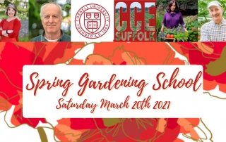 Ann-Marie Powell joins Cornell Cooperative Extension of Suffolk County's Spring Gardening School USA