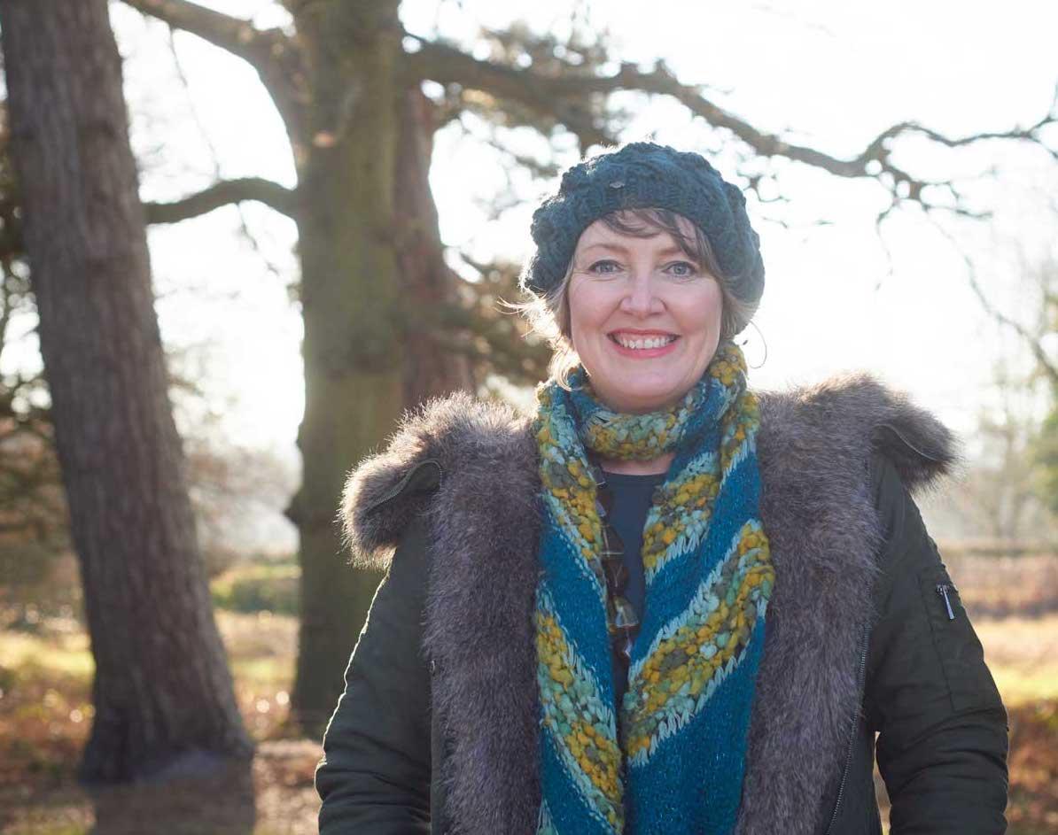 Garden designer Ann-Marie Powell of Petersfield, Hampshire.