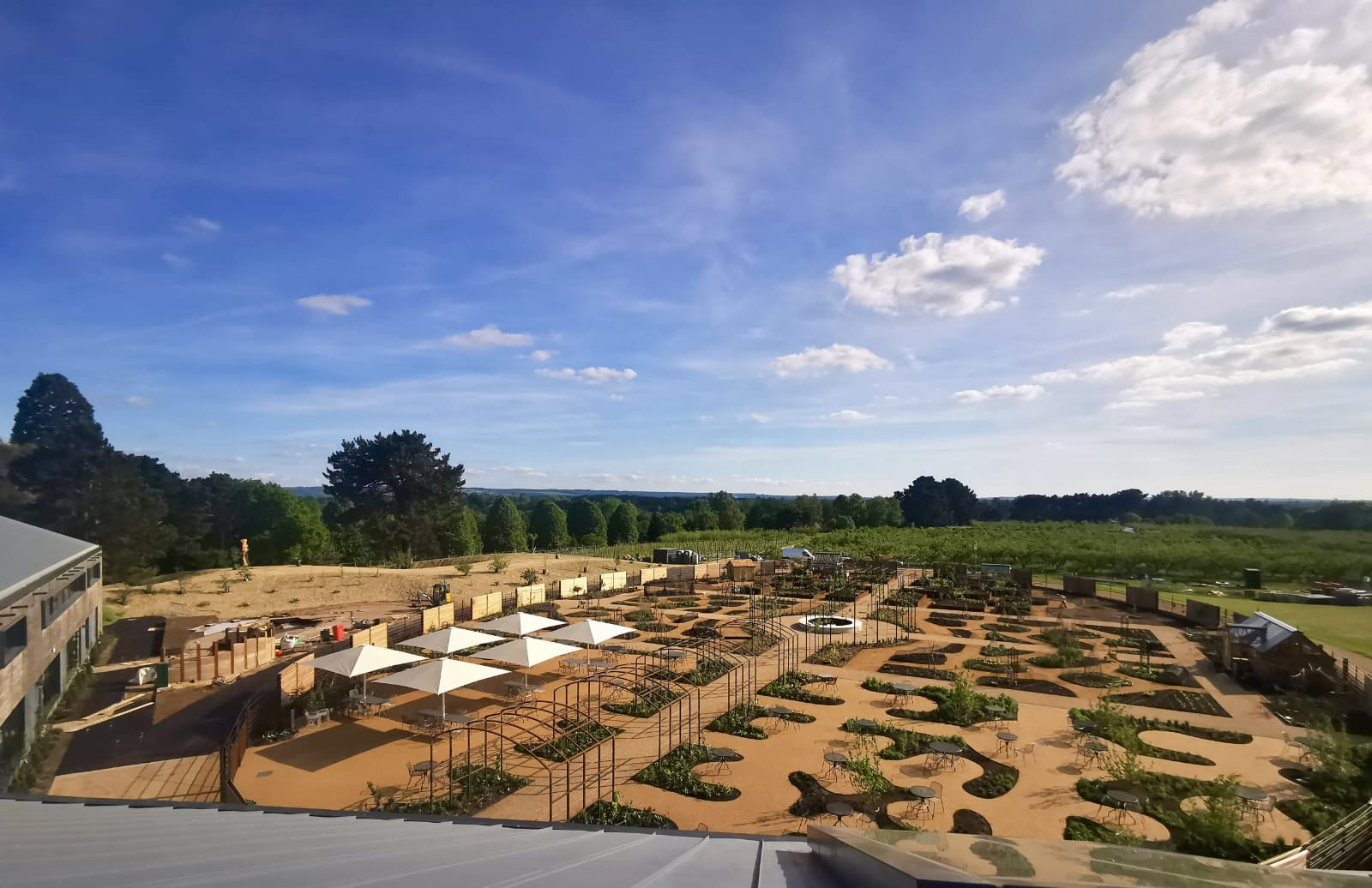 Overview of the new RHS Wisley World Food Garden by Ann-Marie Powell