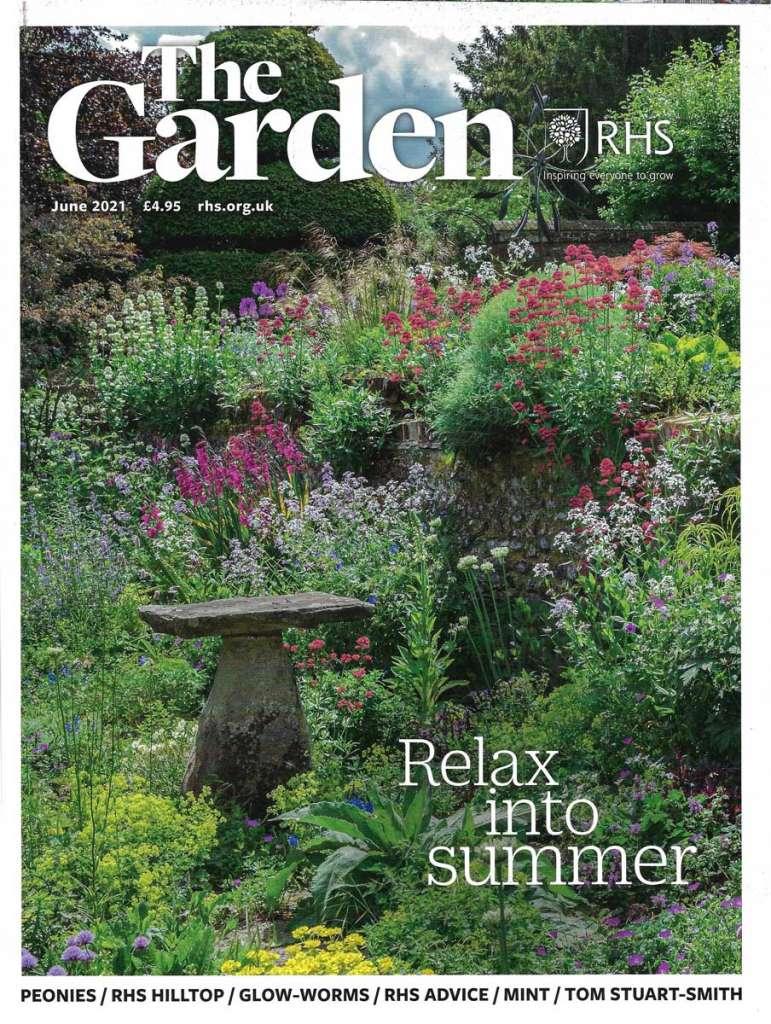 Designer Ann-Marie Powell' RHS Wisley Hilltop Wildlife and World Food Gardens in The Garden Magazine.