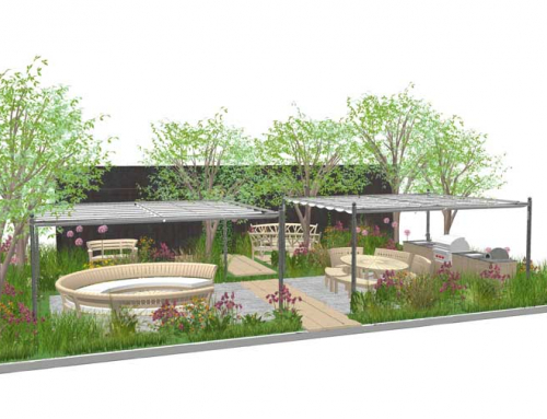 AMPG designs for Gaze Burvill at RHS Chelsea 2021